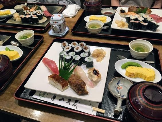 【スタッフブログ】杉浦「お寿司ランチ」